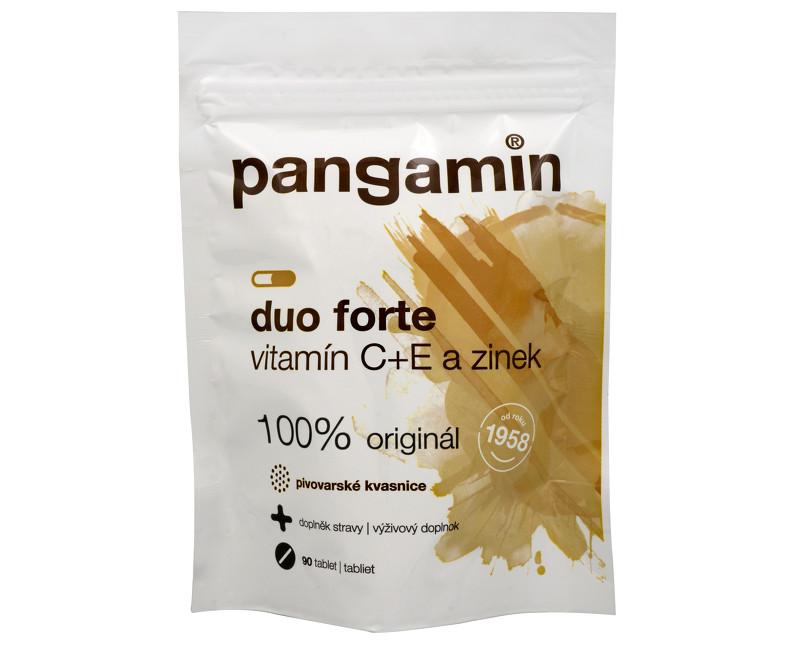 Fotografie Pangamin DUO Forte C+E a zinek 90 tbl.