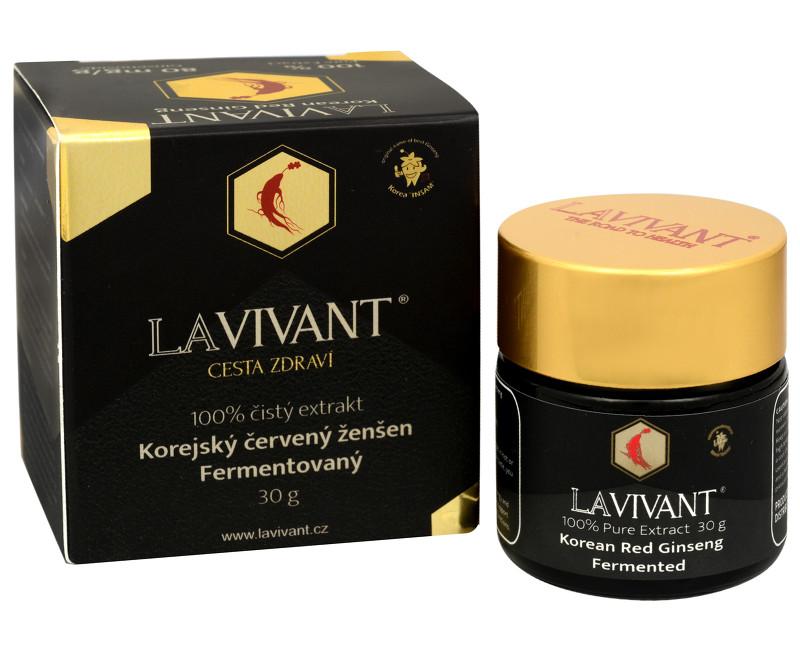 Fotografie Lavivant Ženšenový fermentovaný extrakt LAVIVANT 30 g