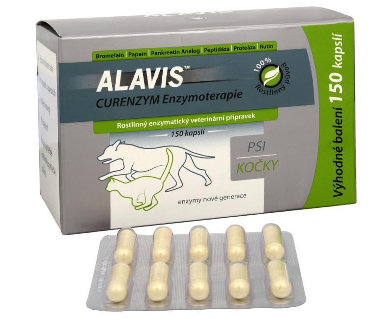 Alavis Curenzym Enzymoterapie 20 cps. 20 kapslí