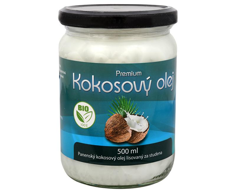BIO kokosový olej Premium 500 ml