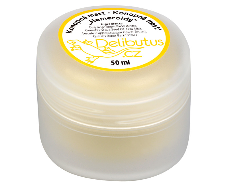Konopná mast na hemeroidy 50 ml