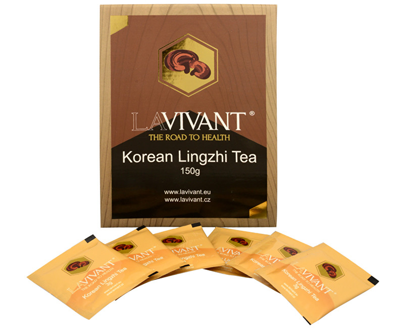 Korean Lingzhi Tea (Ganoderma, reishi) 50 x 3 g