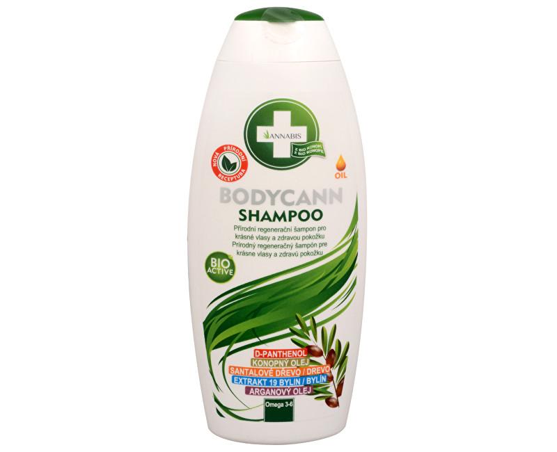 Fotografie Bodycann přírodní regenerační šampon 250ml
