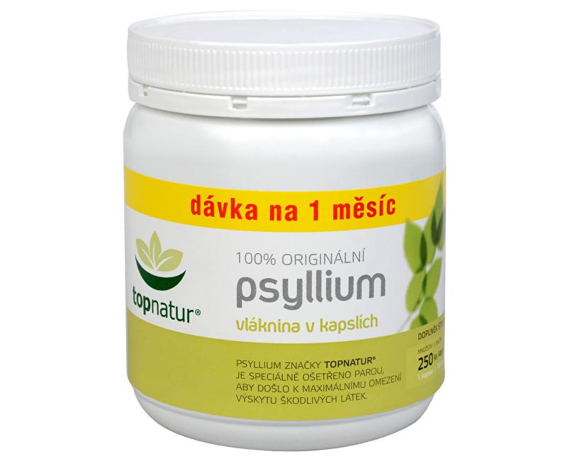 Fotografie Psyllium 200 kapslí + 50 kapslí ZDARMA