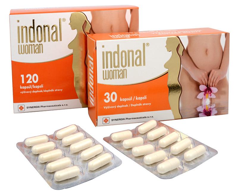 Fotografie Indonal Woman 120 kapslí + Indonal Woman 30 kapslí