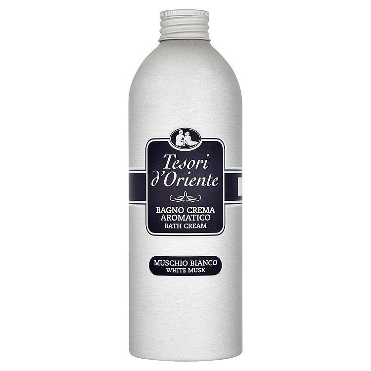 Tesori d'Oriente White musk koupelový krém 500 ml