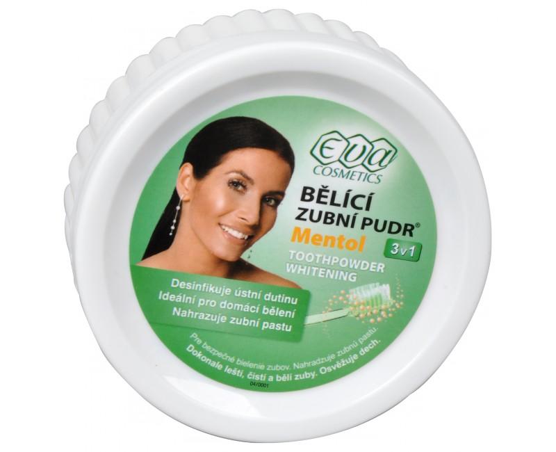 EVA bělící zubní pudr (menthol) 30 g