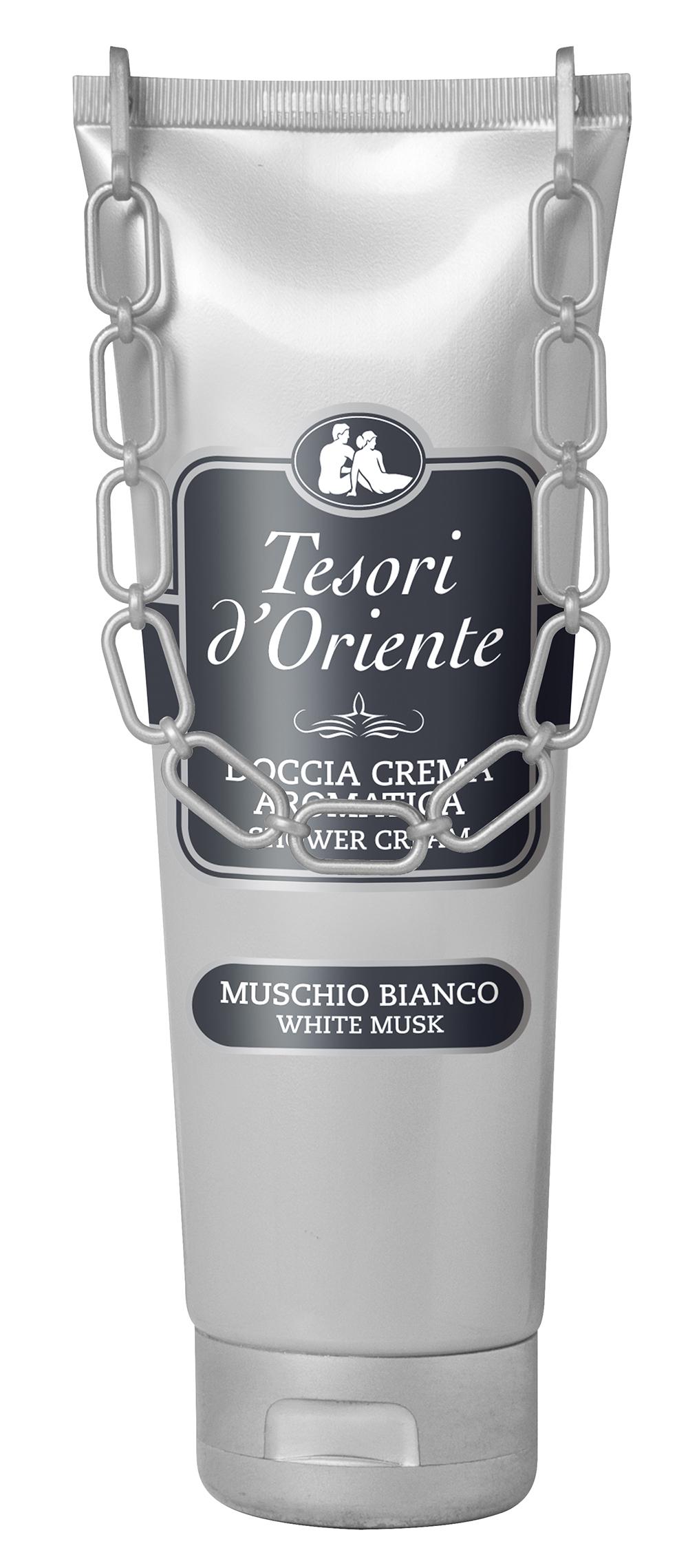 Tesori d'Oriente White Musk sprchový krém 250 ml