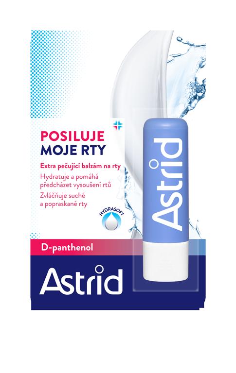 Astrid balzám na rty D-panthenol 4,8 g