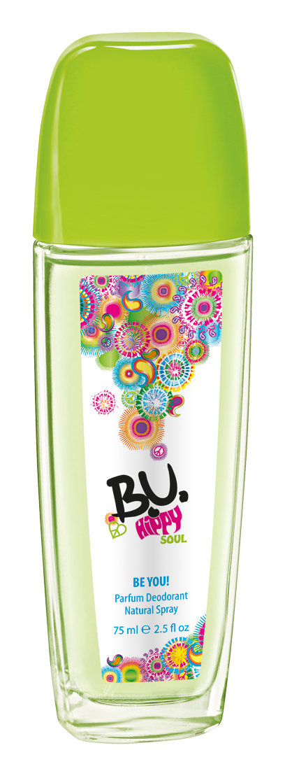 B.U. Hippy Soul natural deodorant ve spreji 75 ml