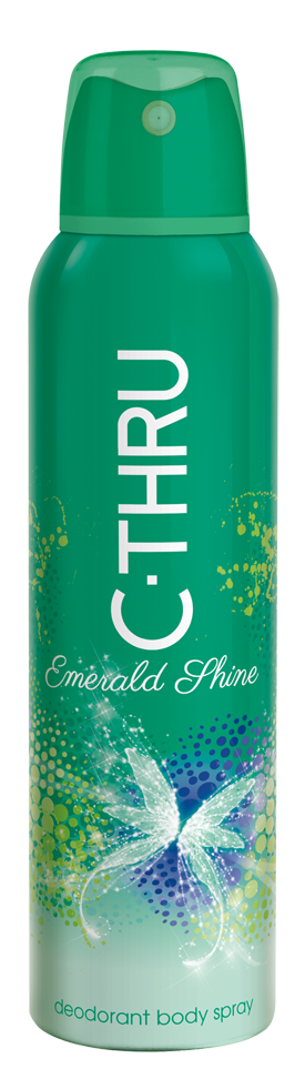 C-THRU Emerald Shine deodorant sprej 150 ml