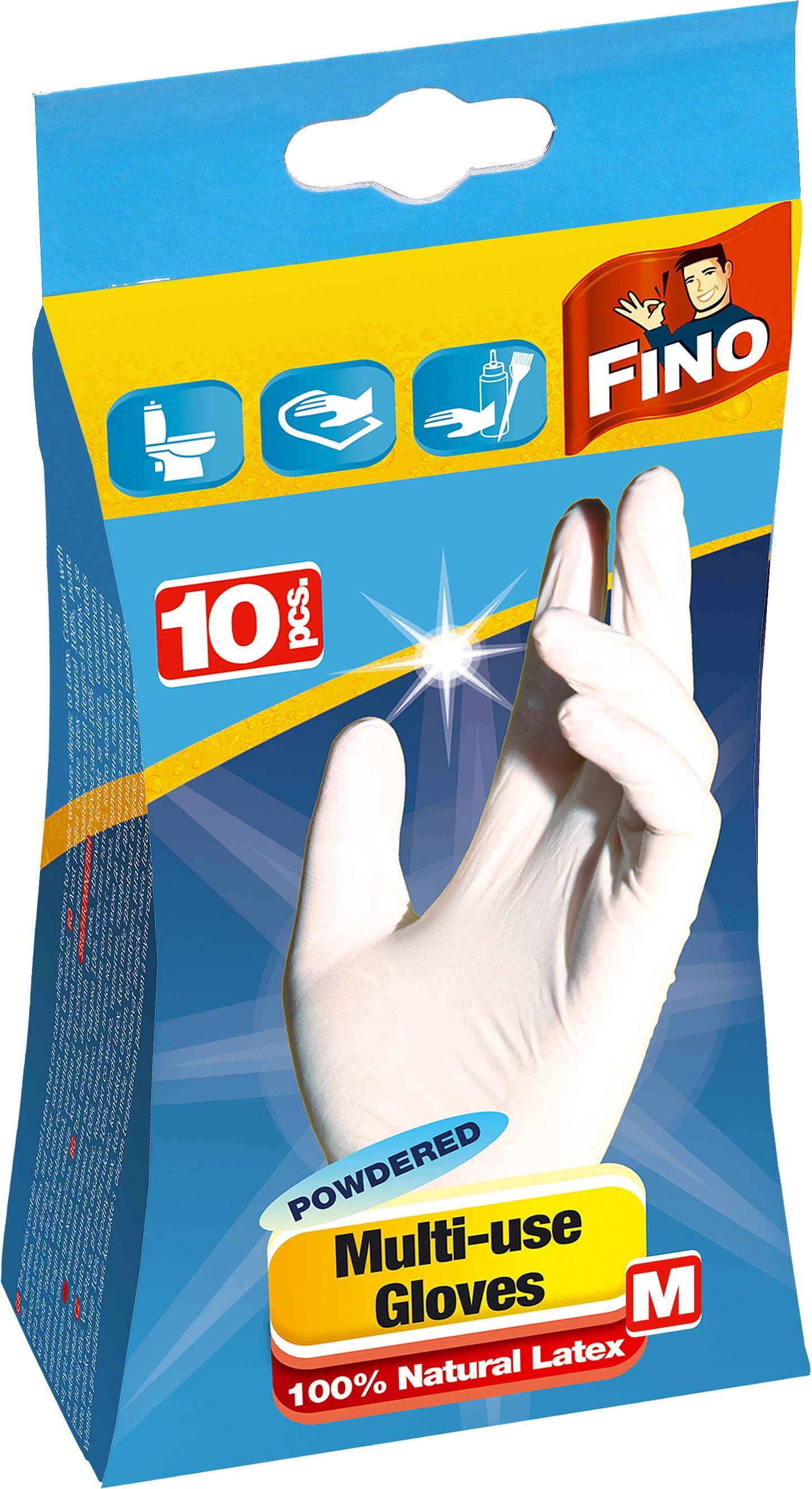 Fino jednorázové rukavice M 10 ks c4d1bd1bab