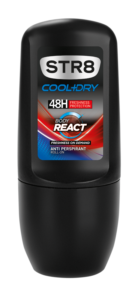 Fotografie STR8 Body React - kuličkový deodorant