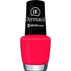 Dermacol neonový lak na nehty č.12 Love , 5 ml