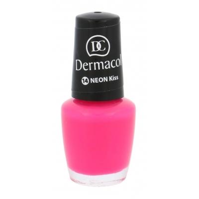 Dermacol neonový lak na nehty č.14 Kiss , 5 ml