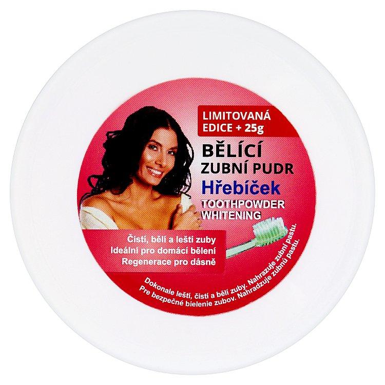 Eva bělící zubní pudr (hřebíček) 3v1 30 g