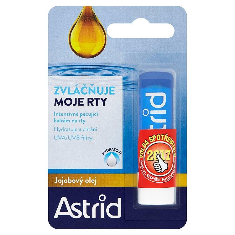 Astrid Jojobový olej balzám na rty 4,8 g