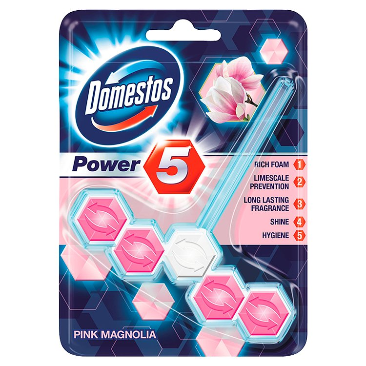 Domestos Power 5 magnolie 55 g