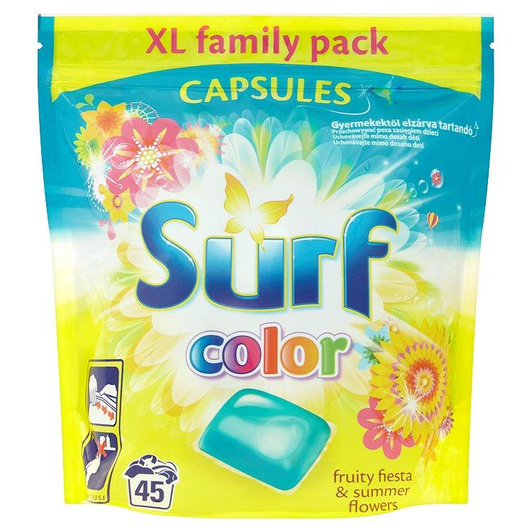 Surf Color Fruity Fiesta & Summer Flowers kapsle, 45 praní 1183 g