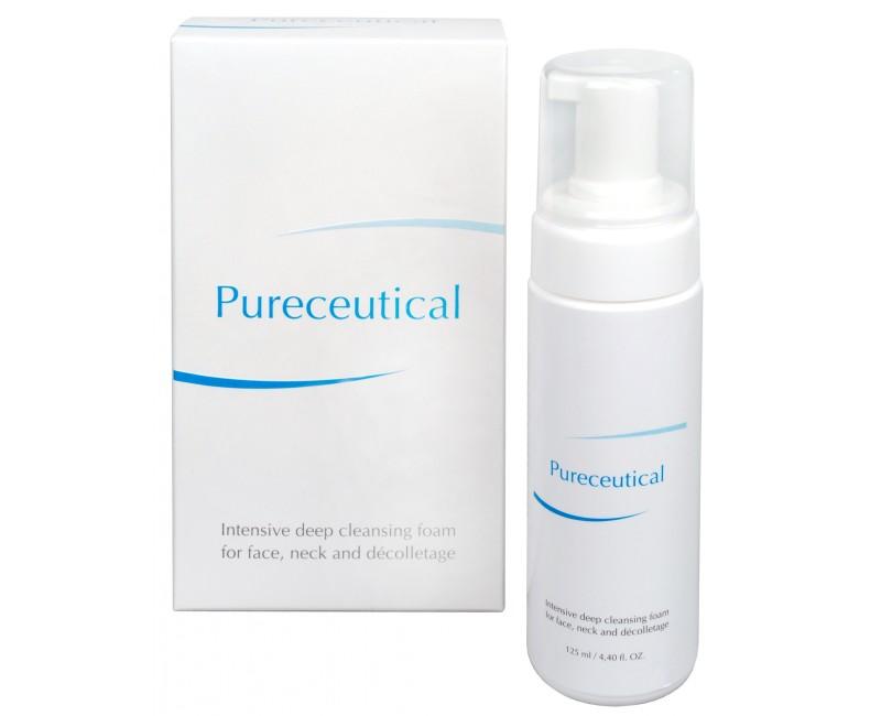 Fotografie Pureceutical - intenzivní hloubková čistící pěna na tvář, krk a dekolt 125 ml