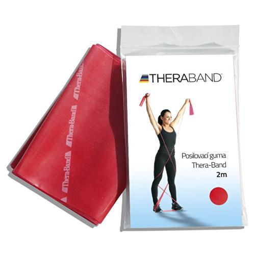 Thera-Band Posilovací guma 12,5 cm x 2 m Červená - středně silná