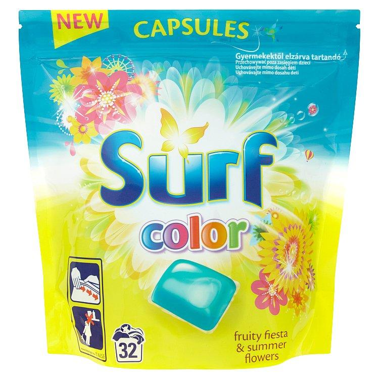 Surf Color Fruity Fiesta & Summer Flowers kapsle, 32 praní 841 g