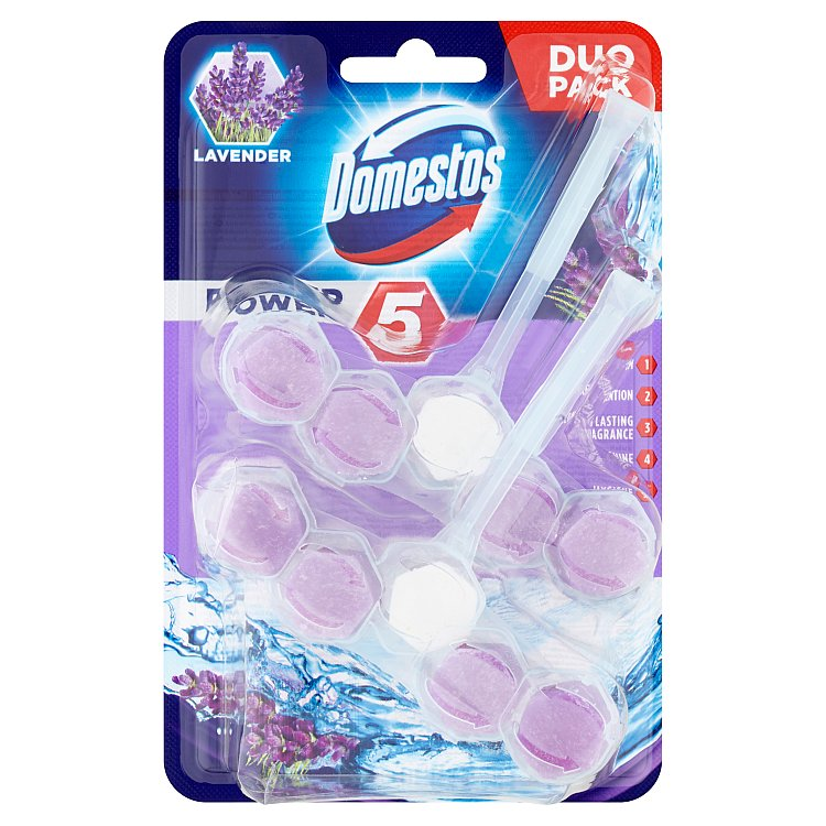 Domestos Power 5 levandule 2x 55 g