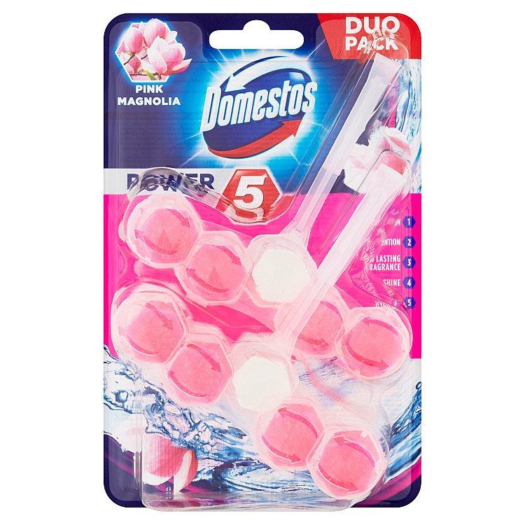 Domestos Power 5 magnolie 2x 55 g