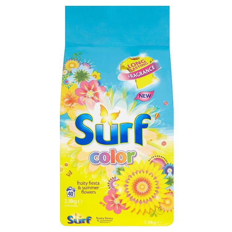 Surf Color Fruity Fiesta & Summer Flowers prací prášek, 40 praní 2800 g