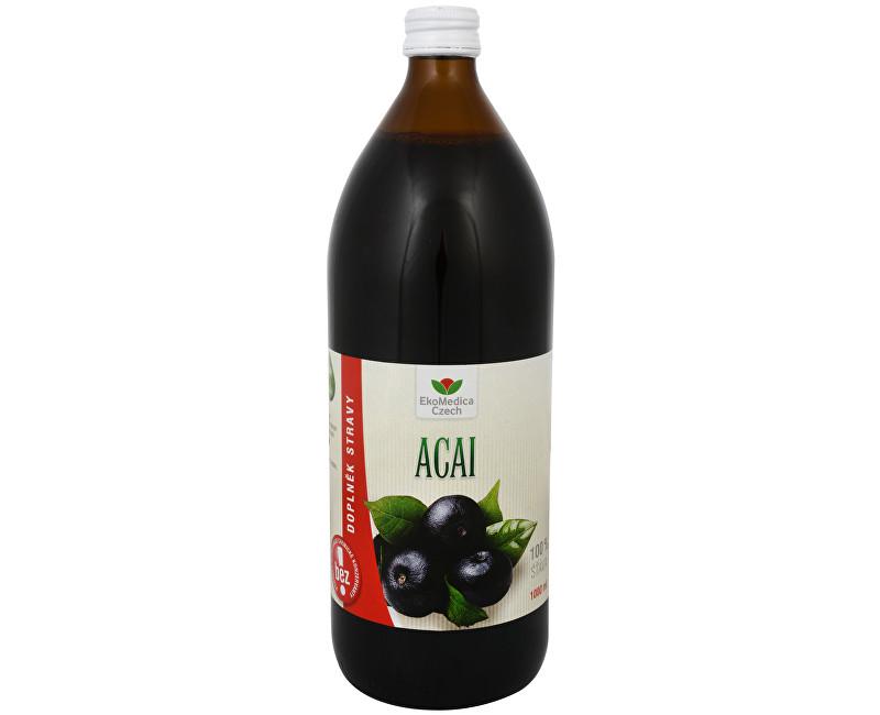 Acai - 100% šťáva z acai 1000 ml