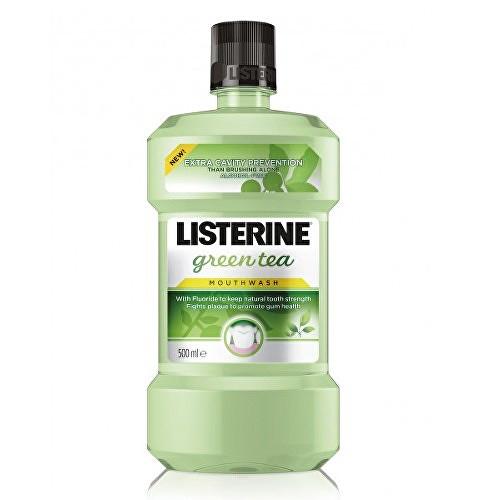 Listerine Green Tea ústní voda bez alkoholu 500 ml