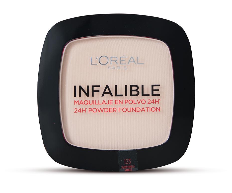 L'Oréal Paris Infaillible dlouhotrvající pudr 123 Warm Vanilla
