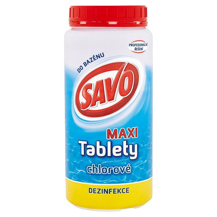 Savo Maxi tablety chlorové do bazénu 1,4 kg