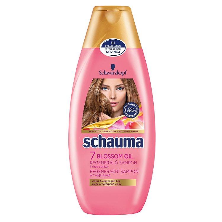Schauma Regenerační šampon s olejem ze 7 květů 400 ml