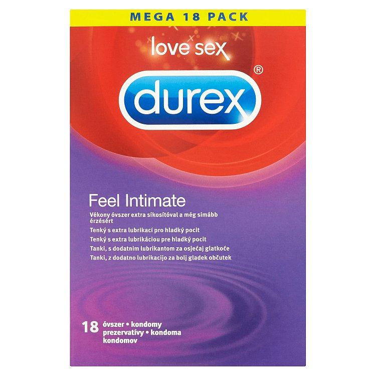 Fotografie Durex Feel Intimate kondomy 18 ks