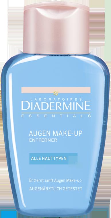 Fotografie Diadermine Essentials odličovač očí a make-upu 125 ml