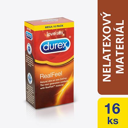 Fotografie Durex Real Feel kondomy 16 ks