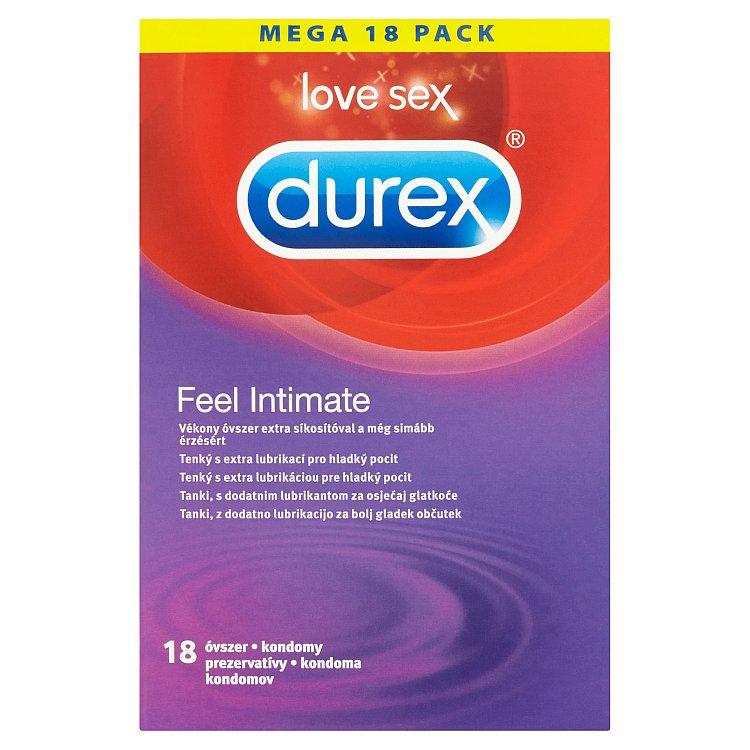 Durex Feel Intimate kondomy 18 ks
