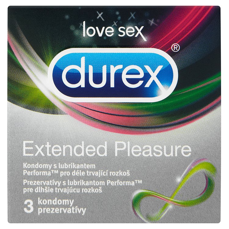 Fotografie Durex Extended Pleasure kondomy 3 ks