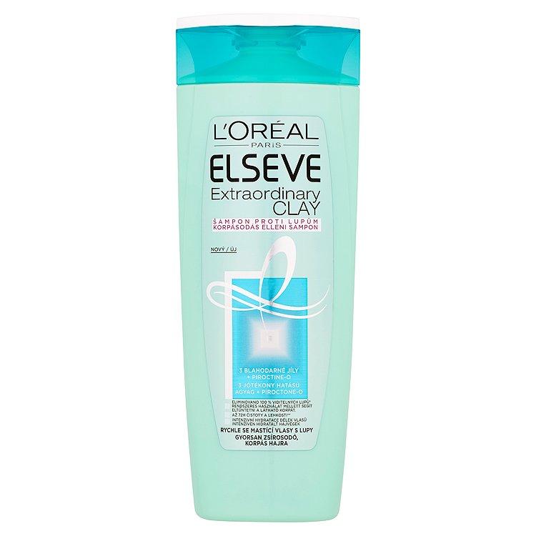L'Oréal Paris Elseve Extraordinary Clay šampon proti lupům 400 ml