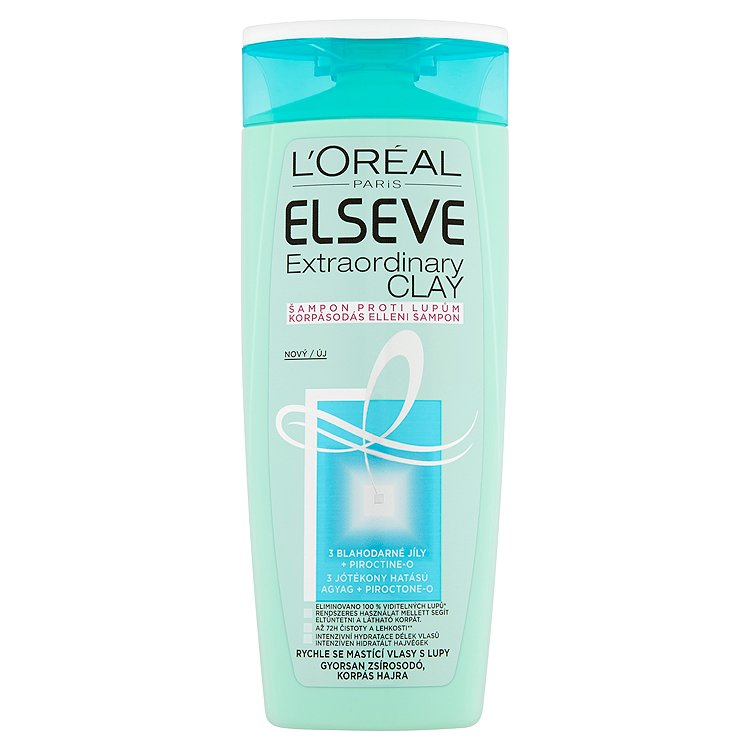 L'Oréal Paris Elseve Extraordinary Clay šampon proti lupům 250 ml