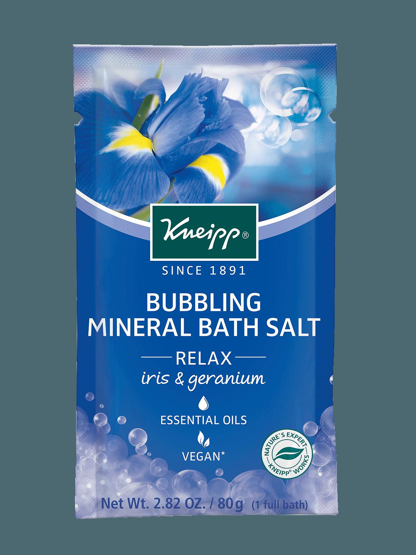 Kneipp pěnivá minerální sůl do koupele Relax 80 g