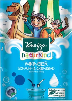 Fotografie Kneipp krémová pěna do koupele pro děti Viking 2x 20 ml