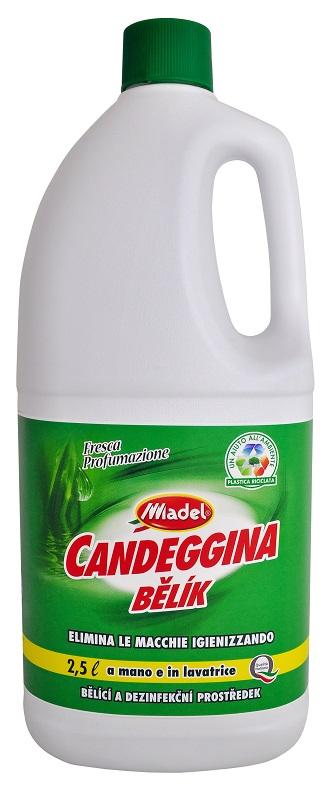 Candeggina Bělík parfemovaná dezinfekce s chlórem na bakterie, viry a plísně 2500 ml