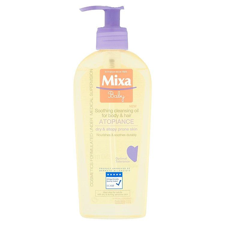 Mixa Baby čisticí a zklidňující olej pro pleť se sklonem k atopii 250 ml