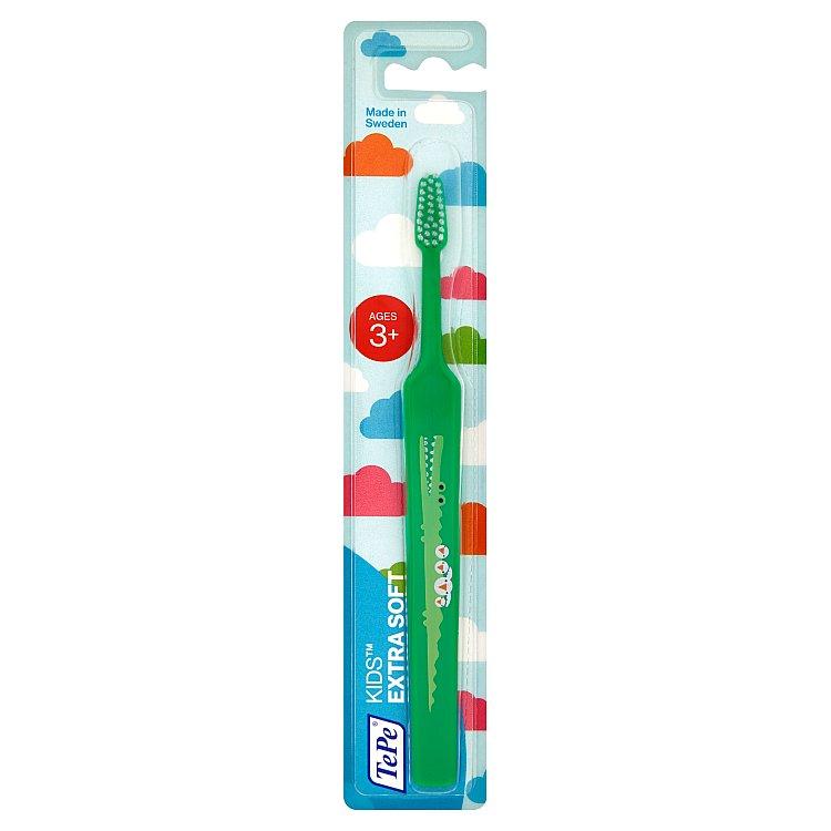 TEPE extra jemný dětský zubní kartáček Kids ZOO 1 ks