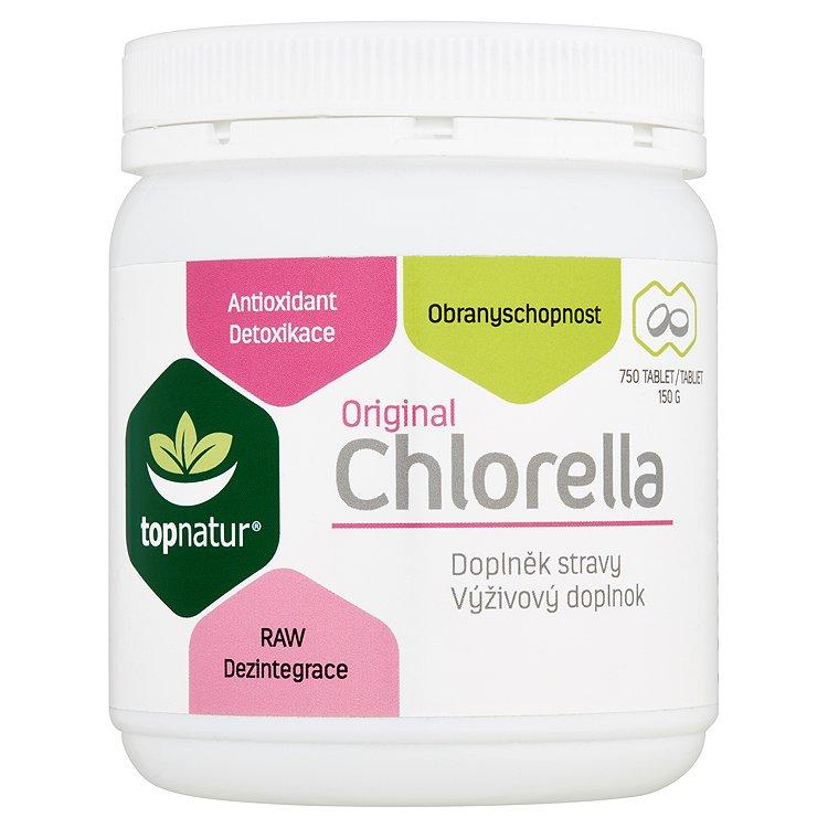 Topnatur Original chlorella 750 tablet 150g