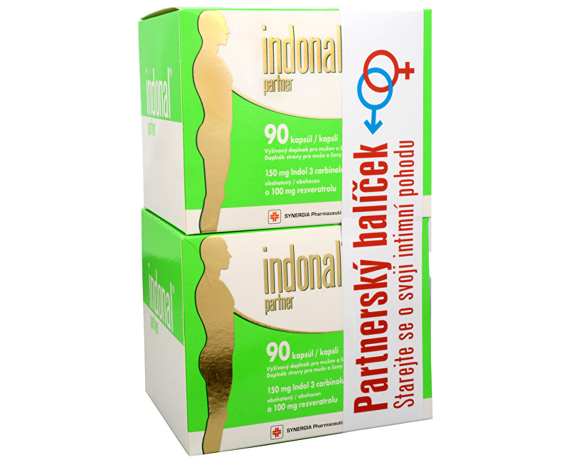 Indonal Partner 90 + 90 kapslí