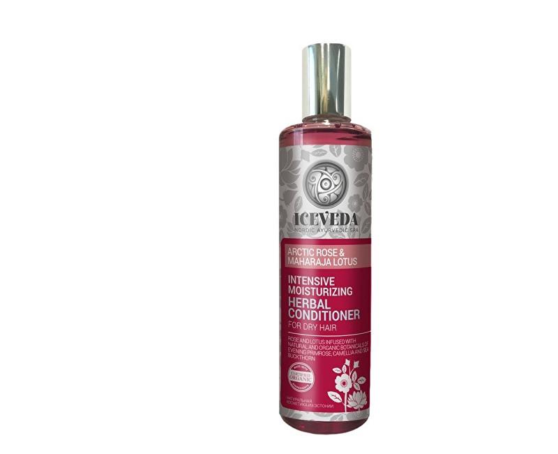 Fotografie Iceveda Bylinný kondicionér na vlasy Intenzivní hydratace s arktickou růží a lotosem 280 ml