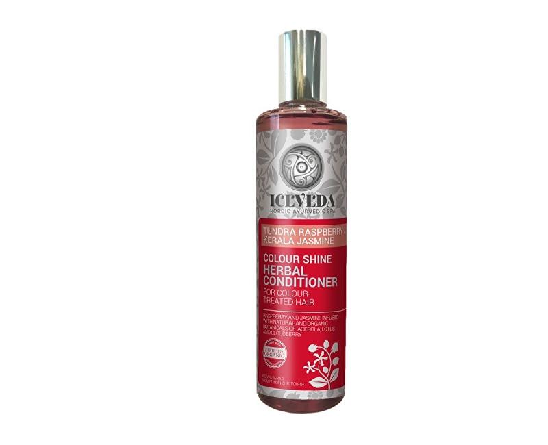 Iceveda Bylinný kondicionér na vlasy Zářivá barva s malinami z tundry a jasmínem 280 ml